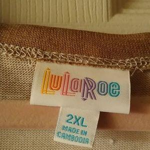 LuLaRoe Sweaters - NWT CAROLINE SWEATER 2X POCKETS